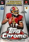 2012 TOPPS CHROME FOOTBALL BLASTER BOX - WITH RELIC