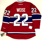 DALE WEISE SIGNED MONTREAL CANADIENS REEBOK PREMIER HOME JERSEY PSA DNA COA