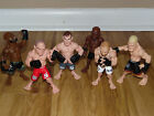 UFC MMA ACTION FIGURES 6 LOT BOXING FIGHTING KARATE MIXED MARTIAL ARTS