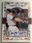 2011 Leaf Legends Of Sport Cal Ripken Jr Orioles Signature Autograph #16 20