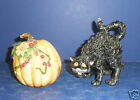 Fitz and Floyd Halloween Harvest Shakers - New in Box- 68/530
