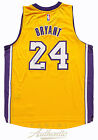 KOBE BRYANT Hand Signed 2014 Gold Lakers Home Jersey PANINI