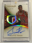 2013-14 Immaculate Acetate Jersey Numbers Scottie Pippen Auto Patch 33 NBA