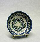 Polish Pottery Beautiful Berry bowl Boleslawiec 4-1/2