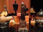 JAY STRONGWATER RED JEWEL PERSIA STONE OBELISK PYRAMID LIMITED EDITION