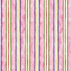Cat Fabric - HAPPY CATZ - STRIPE - PINK - By The Yard