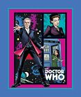 BBC Dr. Who Comics Telephone Panel Cotton Print Doctor Who 36 x 43 inch tall