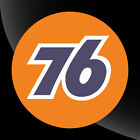 Union 76 Vintage Style Vinyl Decal Sticker Gasoline Petroleum Racing 2 in 12 in
