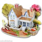 Children DIY 3D Romantic Cabin Jigsaw Puzzle Education Toy Intelligence Gift Kit