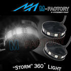 For KTM 1190 Adventure SMR SMC 660 White Storm Style Side Fairing LED Light 2pcs