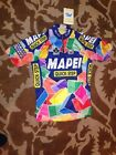NWT Mens MAPEI Quick Step Genuine SANTINI JERSEY Large Made in Italy