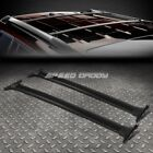 FOR 08 13 TOYOTA HIGHLANDER BLACK ALUMINUM OE STYLE ROOF RACK RAIL TOP CROSS BAR