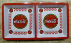 Coca Cola 12 inch 2 compartment serving tray  Made by Gibson