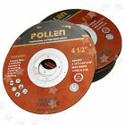 20 PIECES ANGLE GRINDER CUTTING DISCS CUTTING WHEEL STEEL 115MM X 1MM X 22.2MM