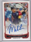 2012 Bowman (# L3-WM) Will Middlebrooks Lucky Redemption RC # 3 Auto #d 098 100
