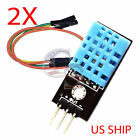 2X DHT11 Temperature and Relative Humidity Sensor Module for arduino