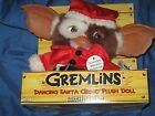 GREMLINS Dancing Santa Gizmo Plush Movie Doll w Sound by NECA in 2008 RARE