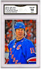 Mark Messier 1 of 49 Art Card Gem MT 10 Artist Autograph Rangers