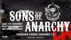 SONS OF ANARCHY SEASONS 1-3 (CRYPTOZOIC) - 12 BOX CASE