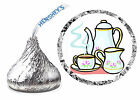 216 TEA PARTY BIRTHDAY PARTY FAVORS HERSHEY KISS LABELS