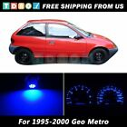 LED Kit Instrument Cluster Speedometer Blue Lights Bulbs for 1995 1997 Geo Metro