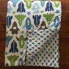 DwellStudio for Target crib or toddler bed -Dwell Rocket Theme Comforter Quilt