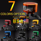 US Ship Brake Reservoir Oil Fluid Cup Universal For CBR GSXR YZF ZX636R 7 Color