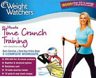 NEW Weight Watchers Time Crunch Training Kit DVD 2013 FREE Shipping