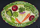 Fitz and Floyd Le Marche Vegetable Platter- 38/276- New
