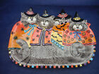 FITZ AND FLOYD KITTY WITCHES PLATTER NEW IN BOX.