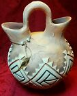 Alluring Steven Kaye Pottery Southwestern Painted Clay Pot Vase Signed Ltd 10