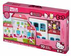 Megabloks Hello Kitty Dream House With 4 Rooms To Decorate for Ages 4 and Up