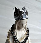 Small French Santos Caged Doll Crown Tiara Shabby Chic Reproduction Antique