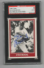 Stan Musial 1984 TCMA autographed card SGC Certified St. Louis Cardinals