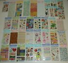 Lot 1 of 41 Packs AMERICAN GREETINGS Creative Touch SCRAPBOOK Sticker NO DUPES