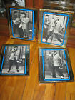 lot of 4 Vintage Elvis Presley Fan Club Photos Country Music Pictures Framed