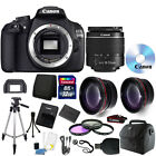 Canon EOS Rebel 1200D T5 DSLR Camera + 18 55mm Lens + 32GB Accessory