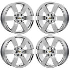 20 CHEVY TRAILBLAZER SS PVD CHROME WHEELS RIMS FACTORY OEM 04 09 5254 EXCHANGE