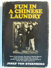 Fun In a Chinese Laundry by Josef Von Sternberg Authographed by Sidney Skolsky
