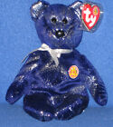 TY ASTRA the BEAR  BEANIE BABY - MINT with MINT TAGS BBOM