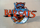 NEW SEALED LICENSED 1989 WILLIAMS BAD CATS PINBALL PLAYFIELD PLASTIC SET