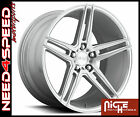 19 Niche Turin M170 19x85 Brush Silver Concave Wheels for Nissan Altima Coupe