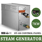 7KW Steam Generator sauna Bath Home Spa Shower  St 135 Controller