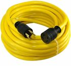 100ft 10 4 30-Amp 125 250-Volt 4-Prong L14-30 Transfer Switch Cord Generator Ext