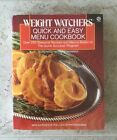 Weight Watchers Quick and Easy Menu Cookbook  Over 250 Seasonal Recipes 2209