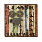 Theater Movie Star Cinema Film Camera  Classic Hollywood Wall Art Decor