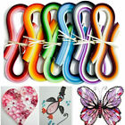 720 Strips Paper Quilling 36 Mixed Colors 540mm Papercraft DIY Craft 3 5 7 10mm