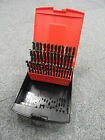 HSS JOBBER DRILL SET 6.0-10.0MM X 0.1 INCREMENT + RED PLASTIC DISPLAY CONTAINER
