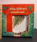 Holiday Celebrations Christopher Radko 4 Piece Christmas Tree Dinner Plates NIB