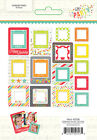 Simple Stories Lets Party Collection Chipboard Frames 5338 2016